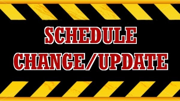 VB Schedule Change