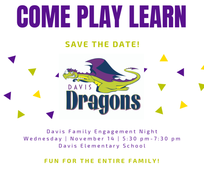 Davis Family engagement night
