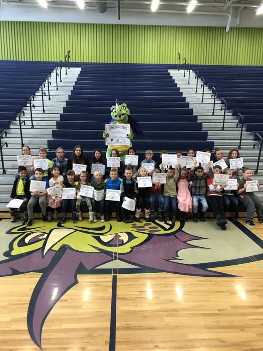February Students of the Month!