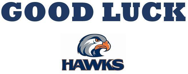 Good Luck Hawks!