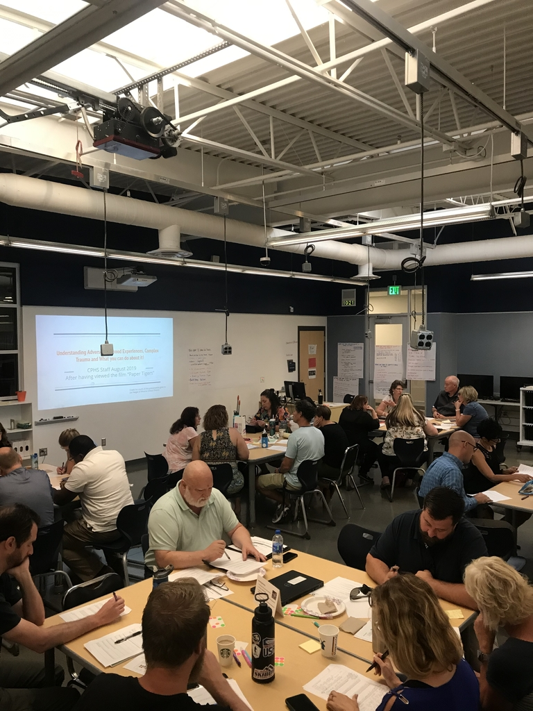 CPHS staff learning, growing, and gearing up for a fabulous start to the 2019-2020 school year!