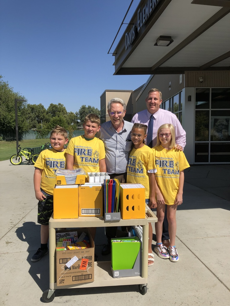 School Supply deliver by noon rotary club