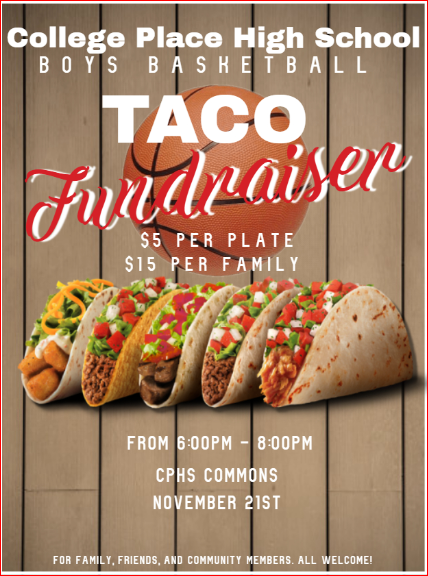 CPHS Boys Basketball Taco Feed!