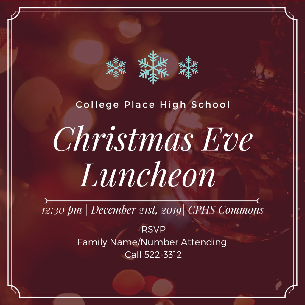 CPPS Christmas Eve Luncheon