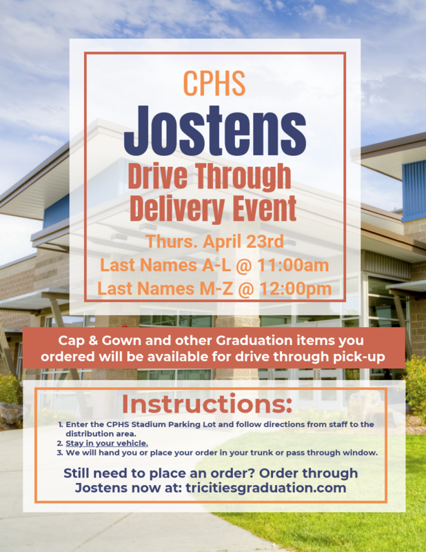 Jostens Drive Through Delivery Event
